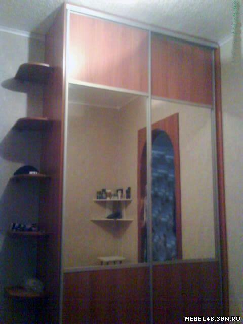 Шкаф купе в коридор - 9 февраля 2010 - наши работы - мебель .