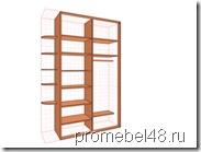 проект шкафа в pro100